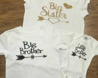 Set if brother and sister shirts
