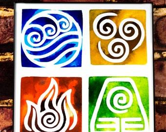 Avatar the Last Airbender: Symbols