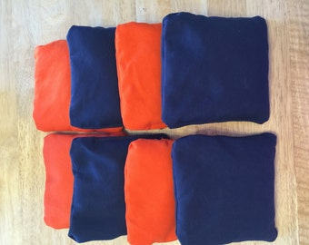 Cornhole Bags Set of 8 (chose your colors)