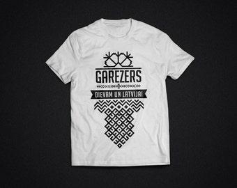 JV GAREZERS - white t-shirt