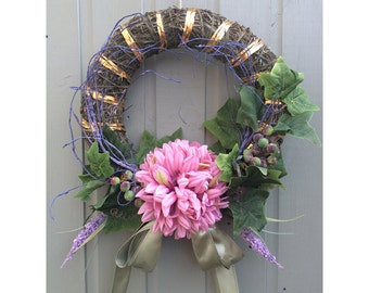 welcome wreath/ seasonal wreath/ fall wreath