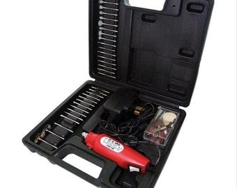 60PC Mini Drill, Rotary Tool Grinder, With Diamond Bits, Polishing Pad & Drill Bits, Bit Set, Suit Most Rotary Tool / Mini Drill Like Dremel