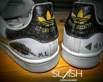 adidas stan smith diamond custom. Black Bedroom Furniture Sets. Home Design Ideas