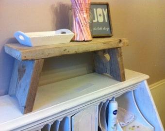 wood handmade table
