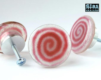 LOLLY Glass knobs