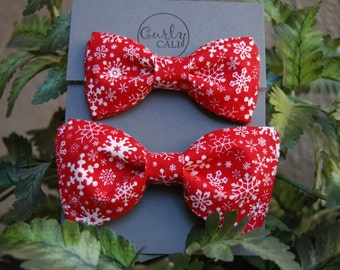 Father/ Son Holiday Bow Tie Set
