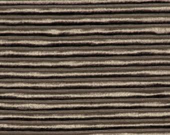 SCALAMANDRE ETHNIC Chic Silk Ribbed OTTOMAN Fabric 10 Yards Titanium