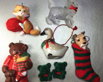 Animal Ornaments