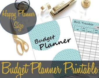 Happy Planner Inserts, Budget Insert, Finance Planner, Budget Planner, Budget Planning Insert, Happy Planner Insert, Happy Planner Pages