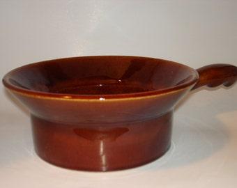 Ruebel Pottery Fondue Pot