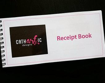 Business Receipt Book