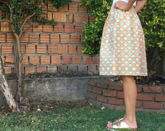 Cotton Piqué skirt rose