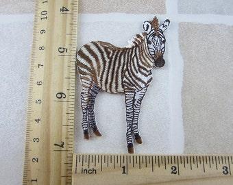 Zebra Patch Iron On
