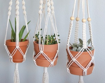 Set of 3 Classic Plant Hangers