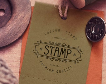 """Custom Stamp 2""""x2"""" Personalized Stamp. Photopolymer Stamp Custom Business Stamp Custom logo stamp, Scrapbooking Card Making, Paper-Crafting"""