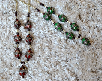 Antique Beaded Necklace