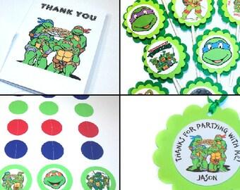 Ninja Turtles theme Party Package