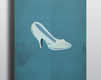 Cinderella Minimalism Movie Poster