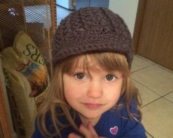 Newsie style hat