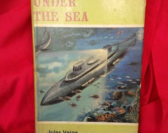 20,000 leagues under the sea by Jules Verne.