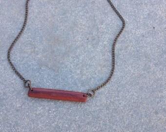 Minimalist Clay Necklace