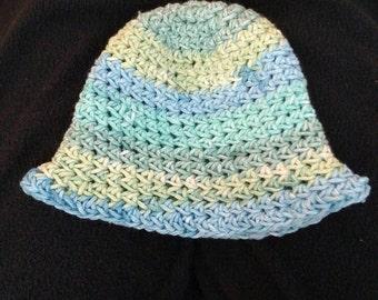 Crochet sunhat (sizes newborn-kids)