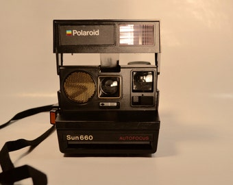 Vintage 660 Polaroid Camera