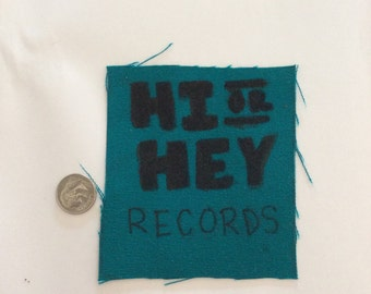 Hi or Hey Records Patch