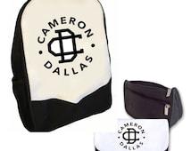 Cameron Dallas Double Pack Bag/Pencil Case (logo ) BMS