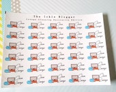 Clean Lounge Planner Stickers Decorative Edition