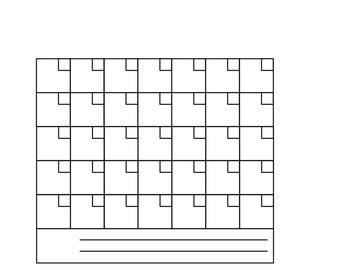 Calendar - svg files