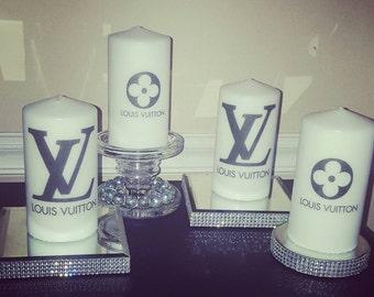 Designer Logo Candles