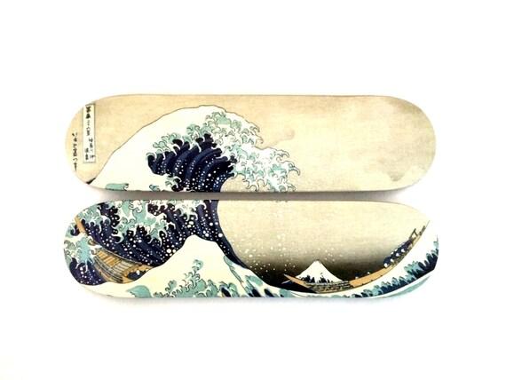 Skateboard skateart d coration murale la grande by liliboard - Grande decoration murale ...