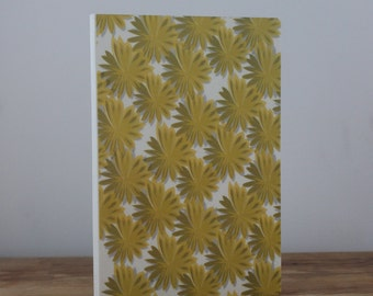 Yellow flowers Illustrated Notebook