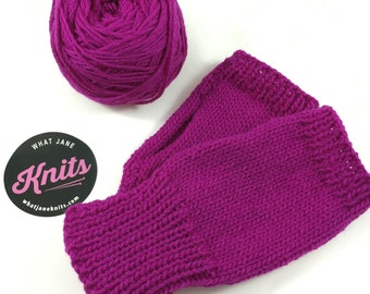 Learn to Knit Handwarmers- KIT