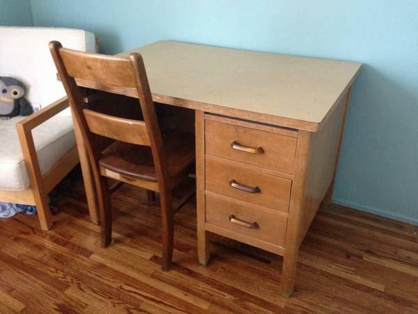 Vintage oak teacher s desk haute juice
