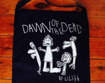 Dawn Of The Dead By Lilith Tote Bag