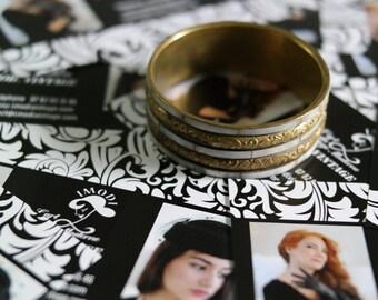 Bracelet vintage brass