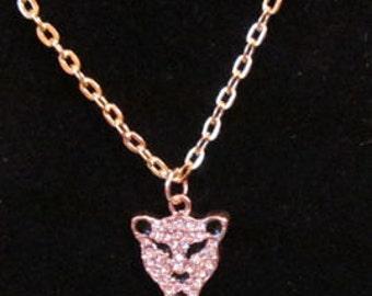 Leopard, Cheetah, Jaguar pendant necklace