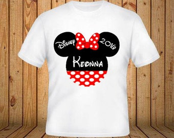 Disney Trip Shirt With Minnie