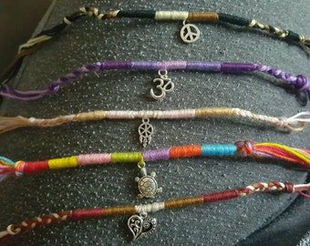 Custom Hand-Made Anklets & Bracelets
