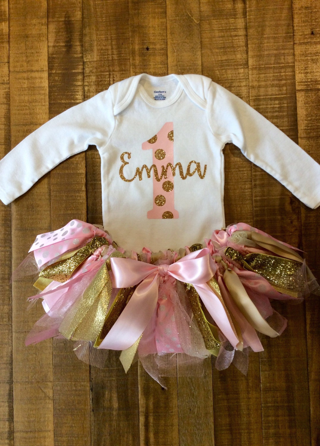 Baby Girl s First Birthday Outfit
