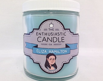 ELIZA HAMILTON - Hamilton Fandom-Inspired Soy Candle