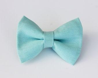 Aqua Bow Tie
