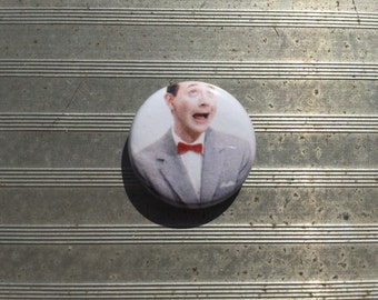 "Pee-Wee Herman 1"" button"