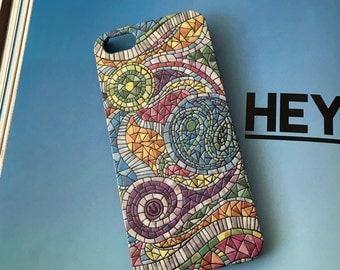 60s Mosaic iPhone X case iPhone 8 case iPhone 7 Plus case iPhone 6s case Samsung  Galaxy S8 case Samsung Galaxy S7 case Samsung  Note 5 case