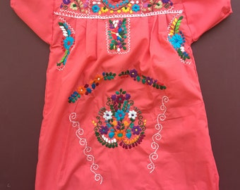 Mexican dress size 10-12 y