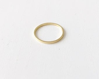 Simple thin ring