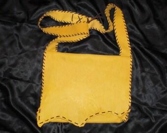 Big Horn Sheep Leather Bag