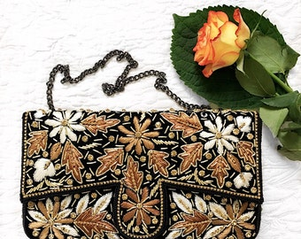 Embelished embroidered wedding clutch evening clutch bridesmaid clutch party clutch prom clutch bridesmaid gift wedding purse gift
